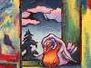 la-sieste-acrylique-et-collage-185-x-176-2011-nathalie-f-d-beetz