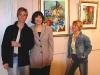 © Guylaine Doucet, Nathalie et Gynette - exposition en 2003